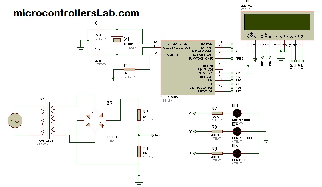 Picture of Sine Wave Frequency Measurement Using Pic Microcontroller