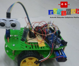 Arduino Speech Control and Detect Obstacles Robot