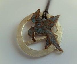 Mockingjay pendant