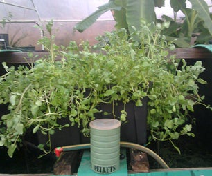 Aquaponics on a Recycled Water Tank With a Little Bit of New