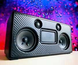 Portable Bluetooth Speaker   Carbon Black