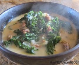 Olive Garden Style Zuppa Toscana Soup