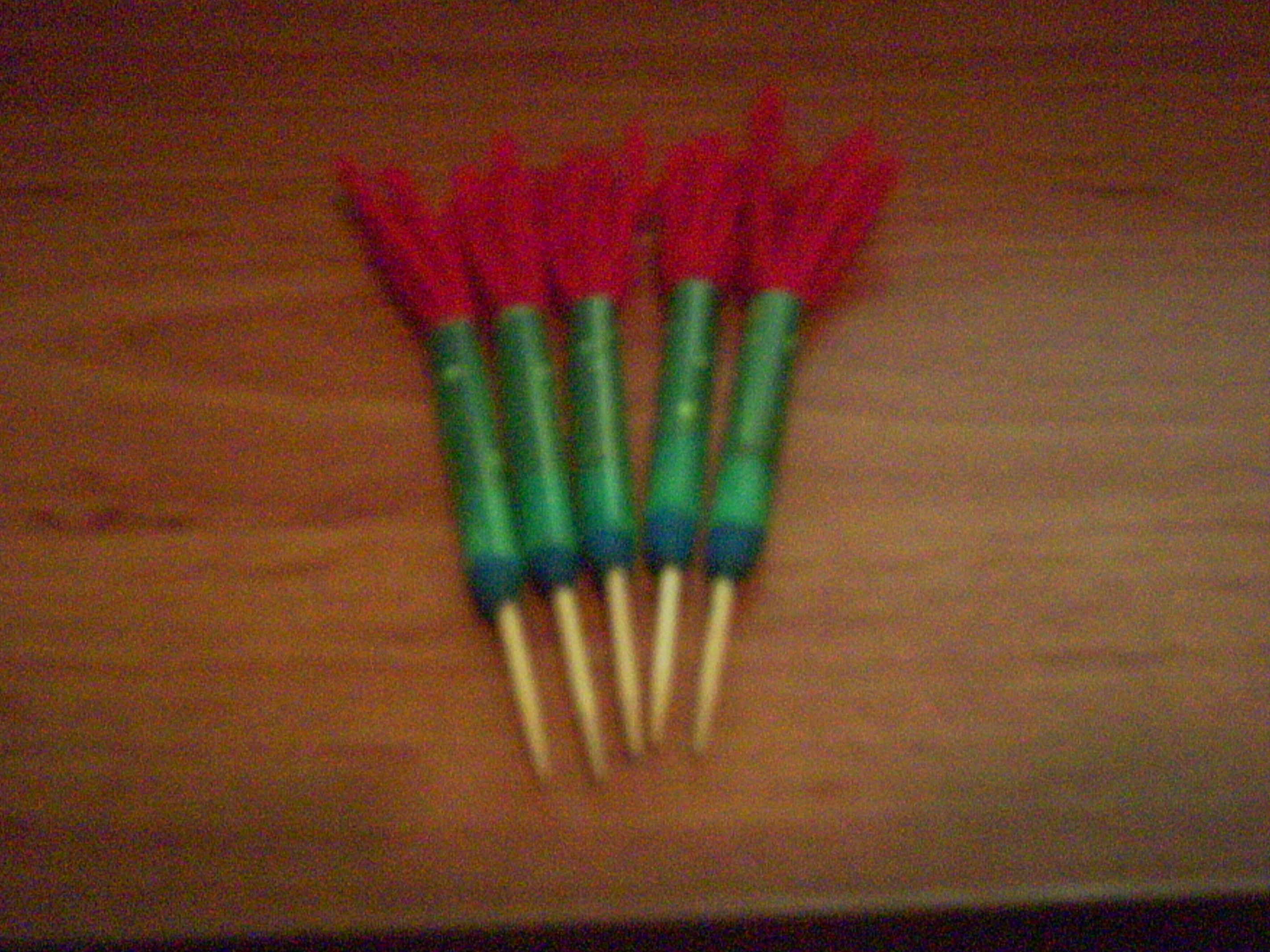 Picture of Make Blowgun Darts Out of Ordinary Stuff