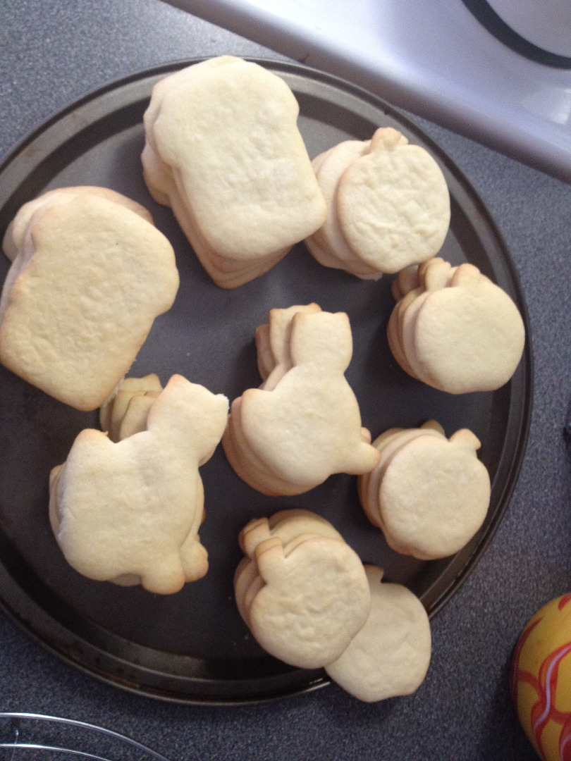 Picture of Halloween Themed Sugar Cookies