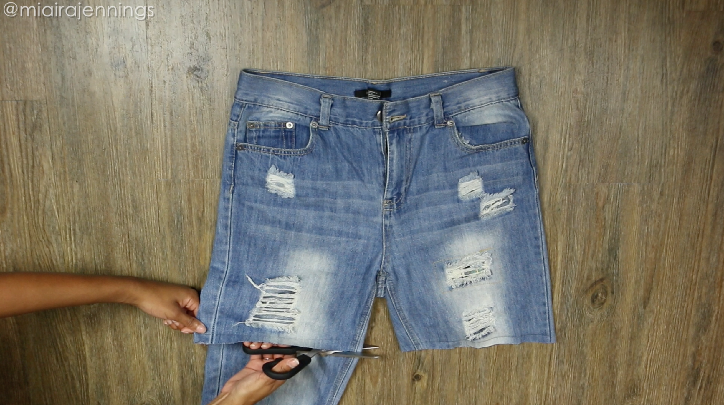 Picture of Cut Pant Legs