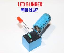 How to Make LED Blinker Using Relay
