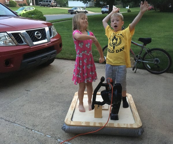 Build a Hover Craft in Less Than an Hour!