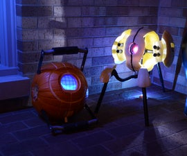 The Aperture Science Automated Pumpkin Turret