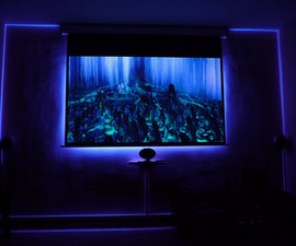 Four Steps to Build an Ambilight for Projector Screen