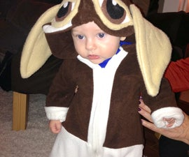 Baby fleece Gizmo suit