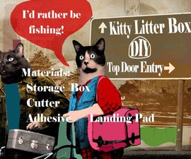 How to make a Kitty Litter Box (Top door entry)