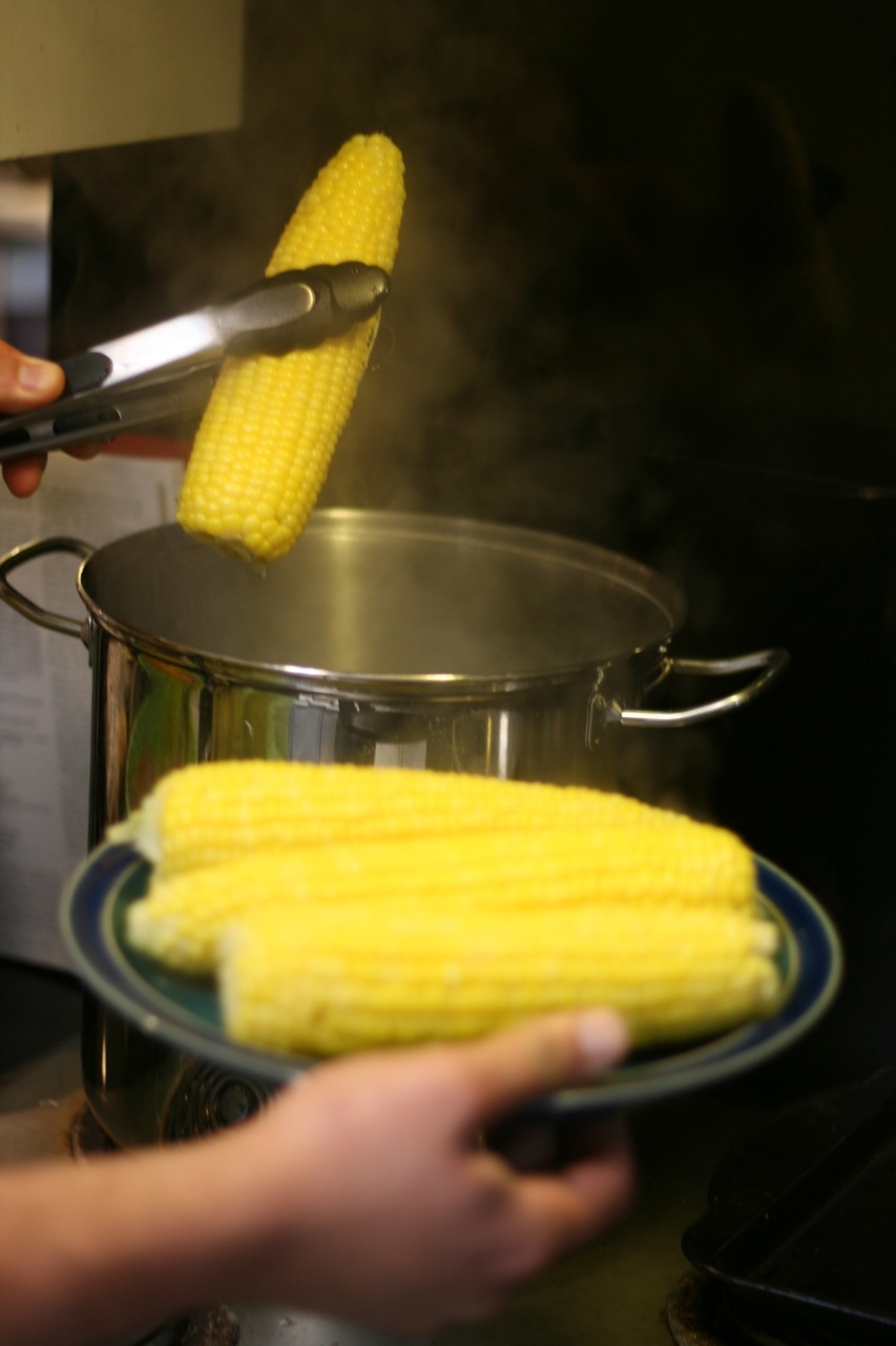Picture of Remove the Corn From the Water