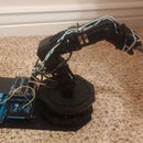 PS3 controlled Robotic Arm