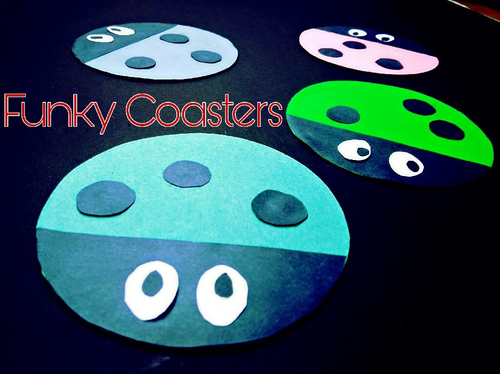 Picture of Funky CD Coasters