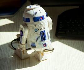 DIY a 3D Print Talking R2D2 Robot