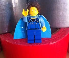 Duck Tape Lego Cape