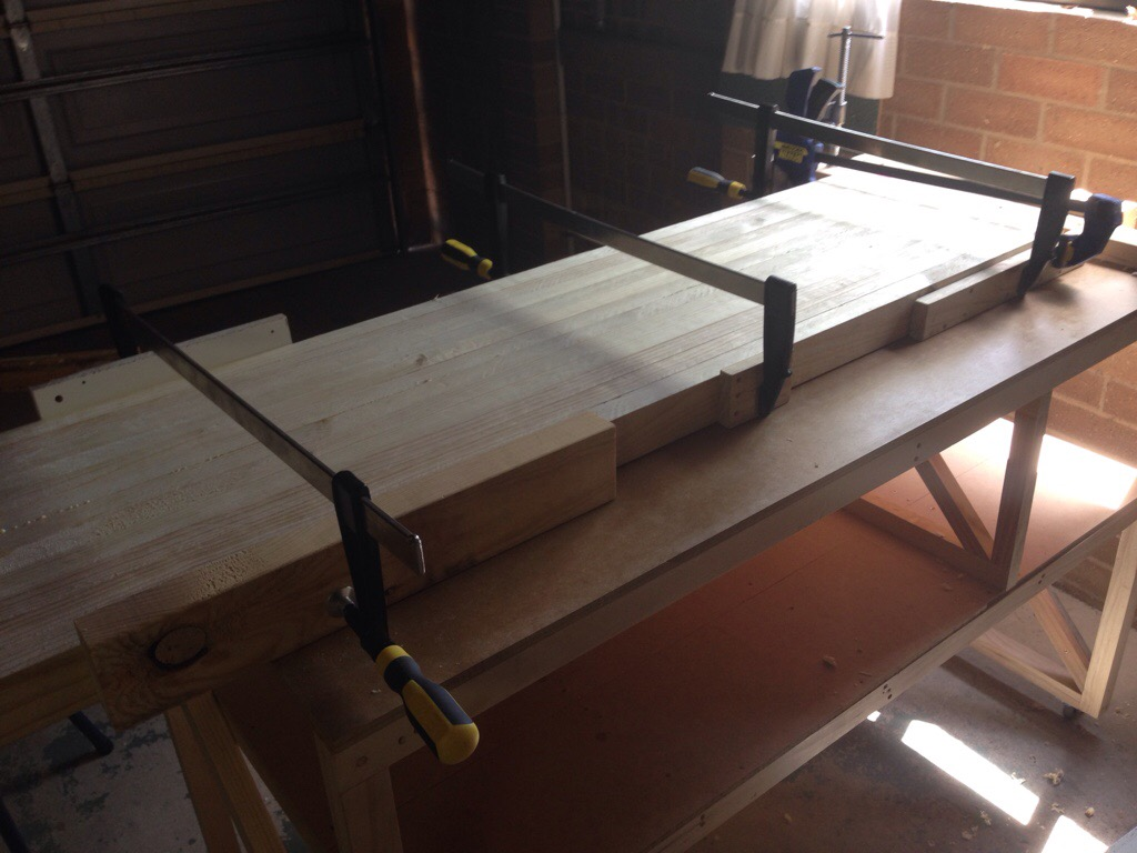 Picture of Glue Up Continues