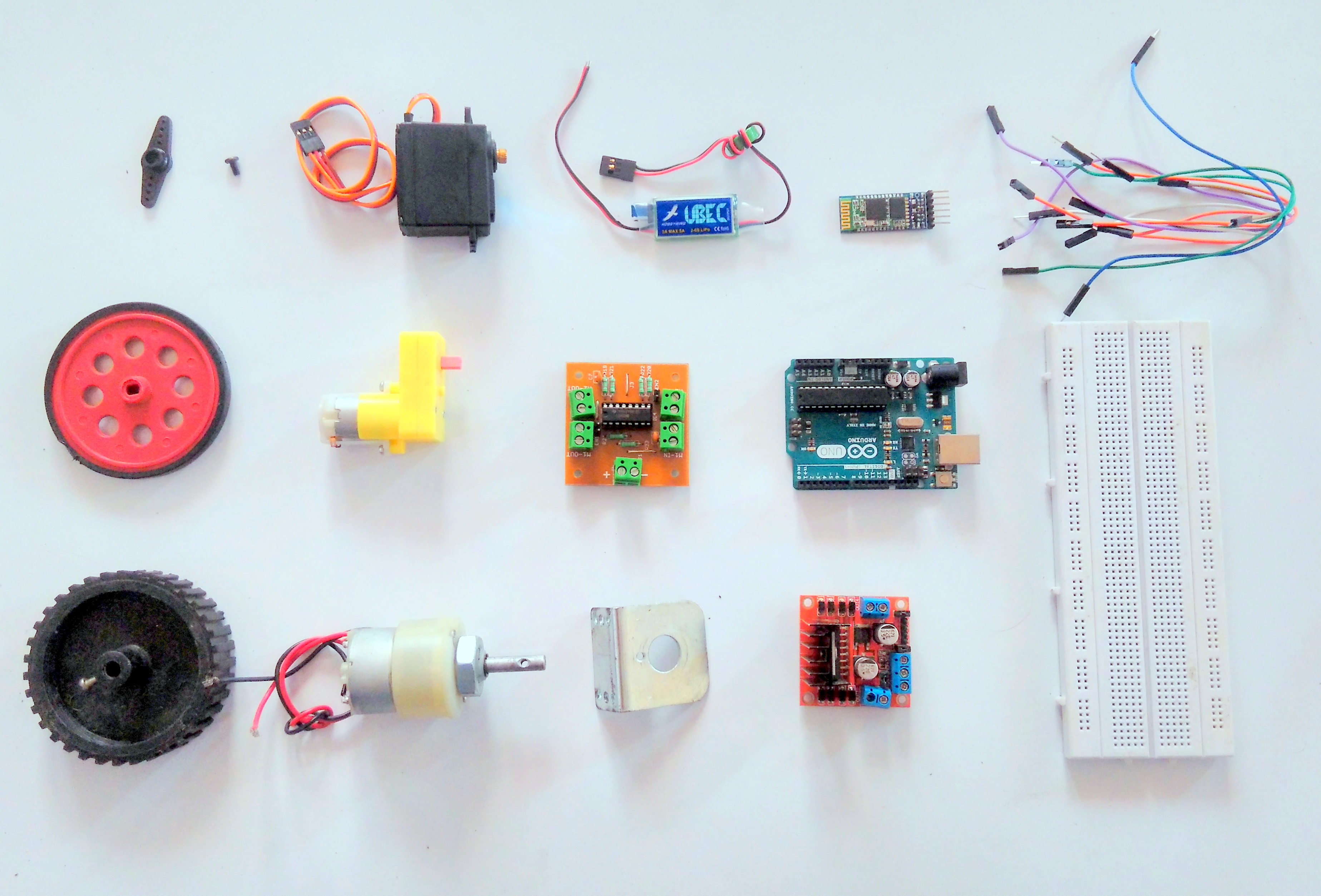 Picture of Interfacing Motors With Arduino