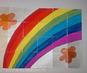 Rainbow Puzzle for Kids