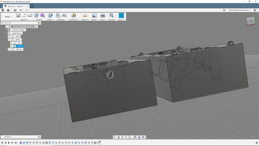 Modeling the Mold-Part2