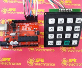 Keypad Access 4x4 With Arduino