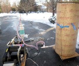 Homemade liquid nitrogen generator