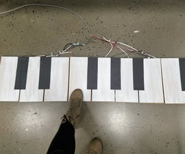 Build an (Easy) Floor Piano!