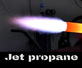 Jet Propane Torch for Metal Melting Foundry