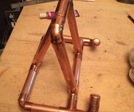 Copper iPad Stand