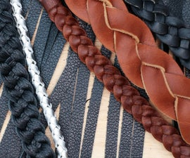 Making Braided Leather