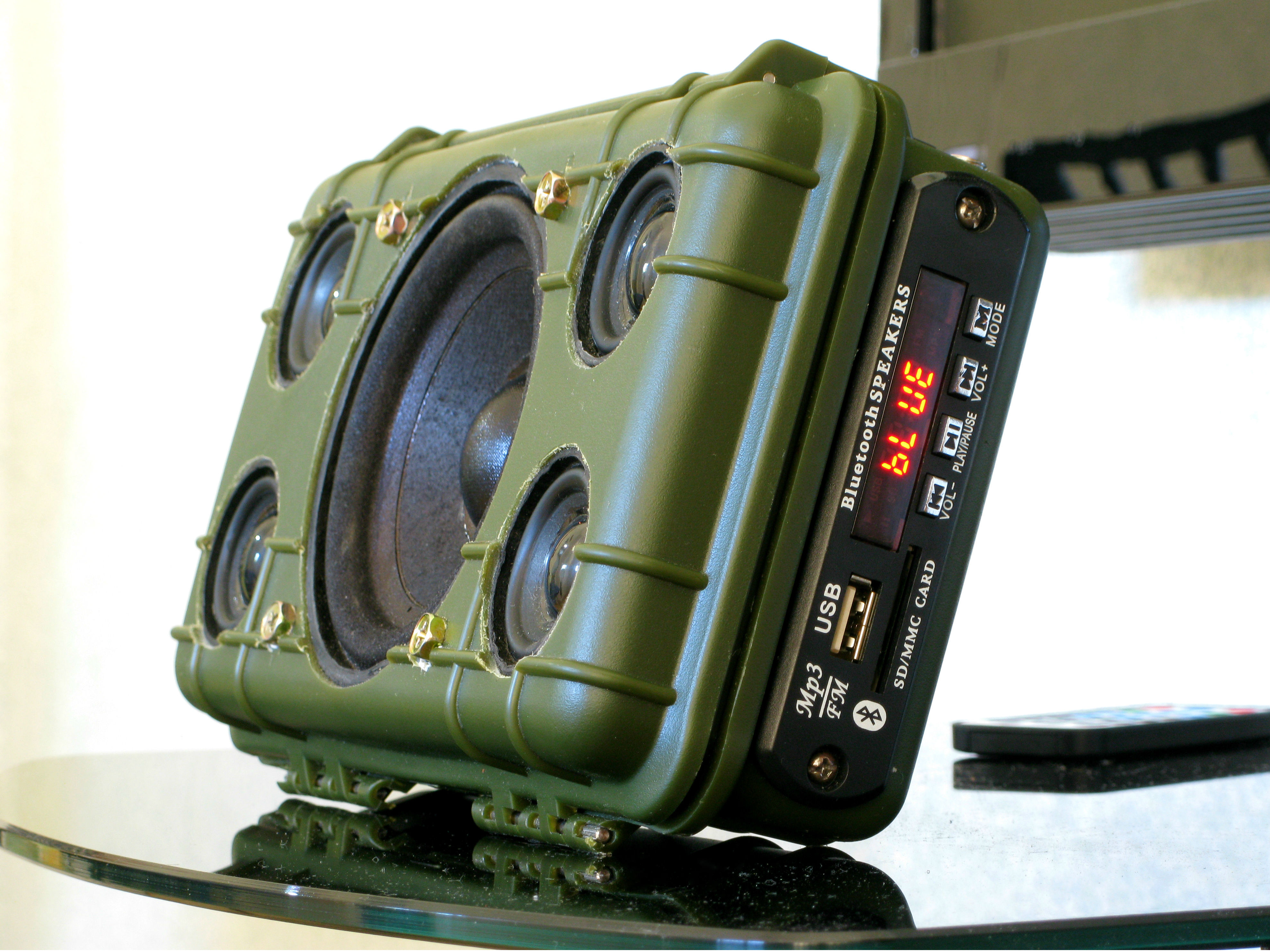 Picture of DIY Tough Bluetooth Boombox (Lasts 20hrs!)