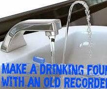 Sink Drinking Fountain Hack