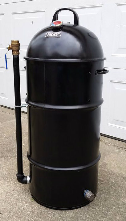 Picture of Mini Ugly Drum Smoker (mUDS)