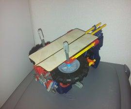 K'nex paper plane launcher