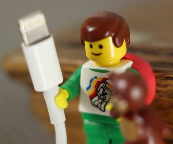 LEGO Hands Fit Cables Perfectly!