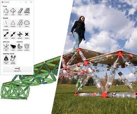 Connect PET Bottles, Make TrussFab Structures