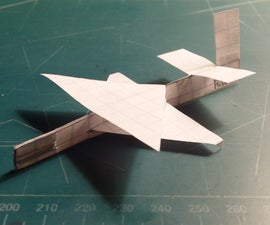 How To Make The Moth Paper Airplane