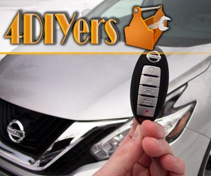 Nissan Keyless Entry Enable Disable Horn Chirp