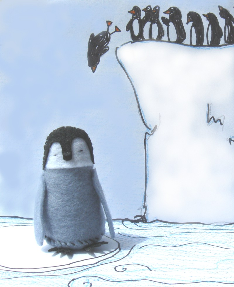 Picture of How to Sew a Baby Penguin.