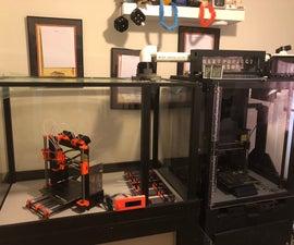 Creating a 3d Print Enclosure for Prusa MK2/3 or MMU