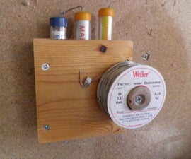 How to- Simple electrical solder storage