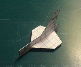 How To Make The Simple Starfighter Paper Airplane