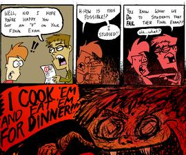 Full-Color Comic Strip