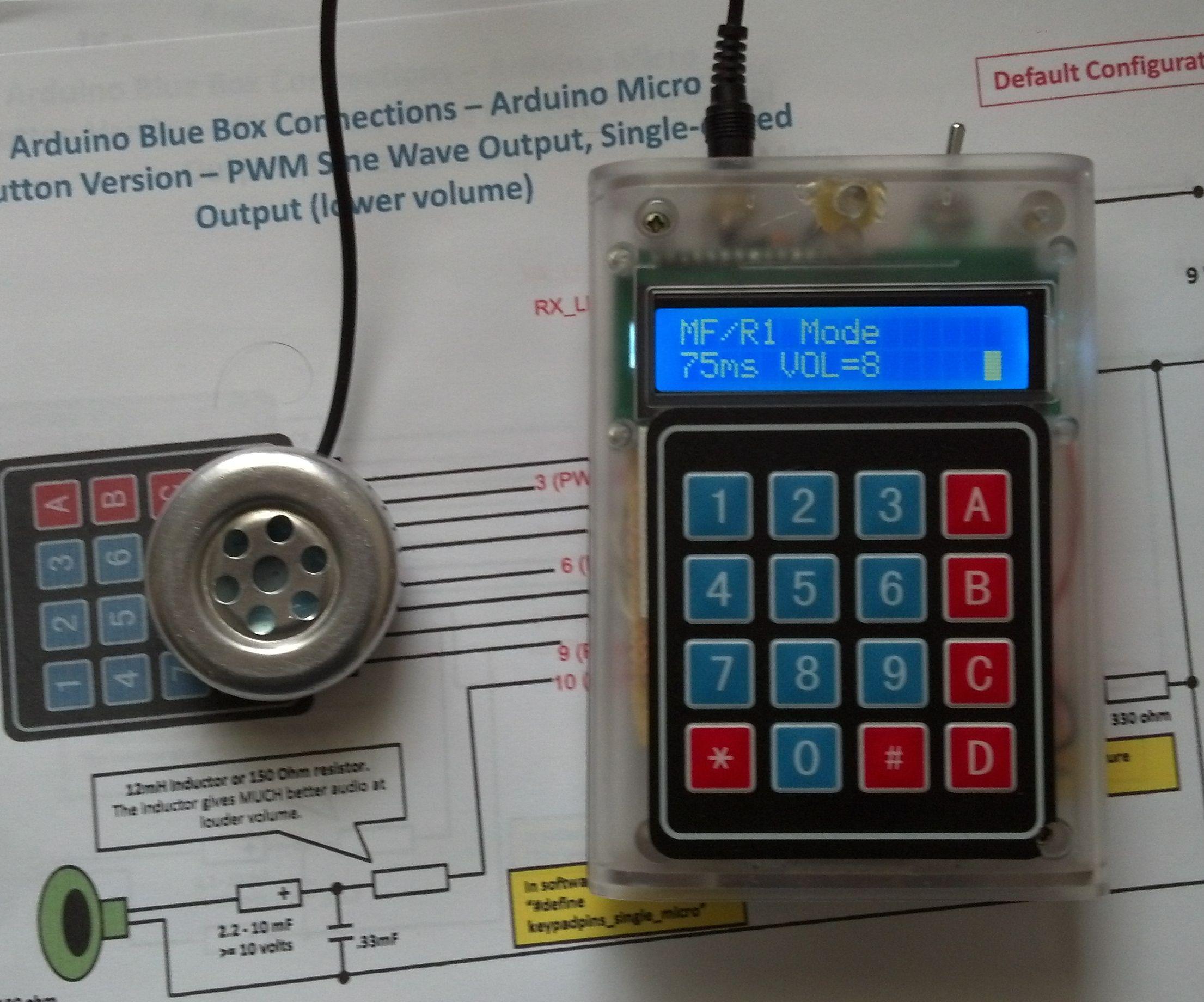 Arduino 12-mode Blue Box - Introduction: 5 Steps
