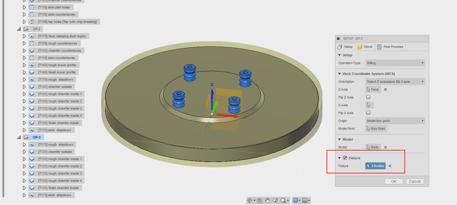 Picture of OP-3 Setup in Fusion 360