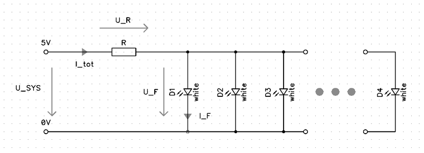 LEDs in Parallel