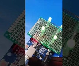 A Simple LED Cube 2X2X2