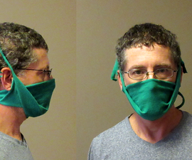Make a Dust Mask Out of a Tee Shirt
