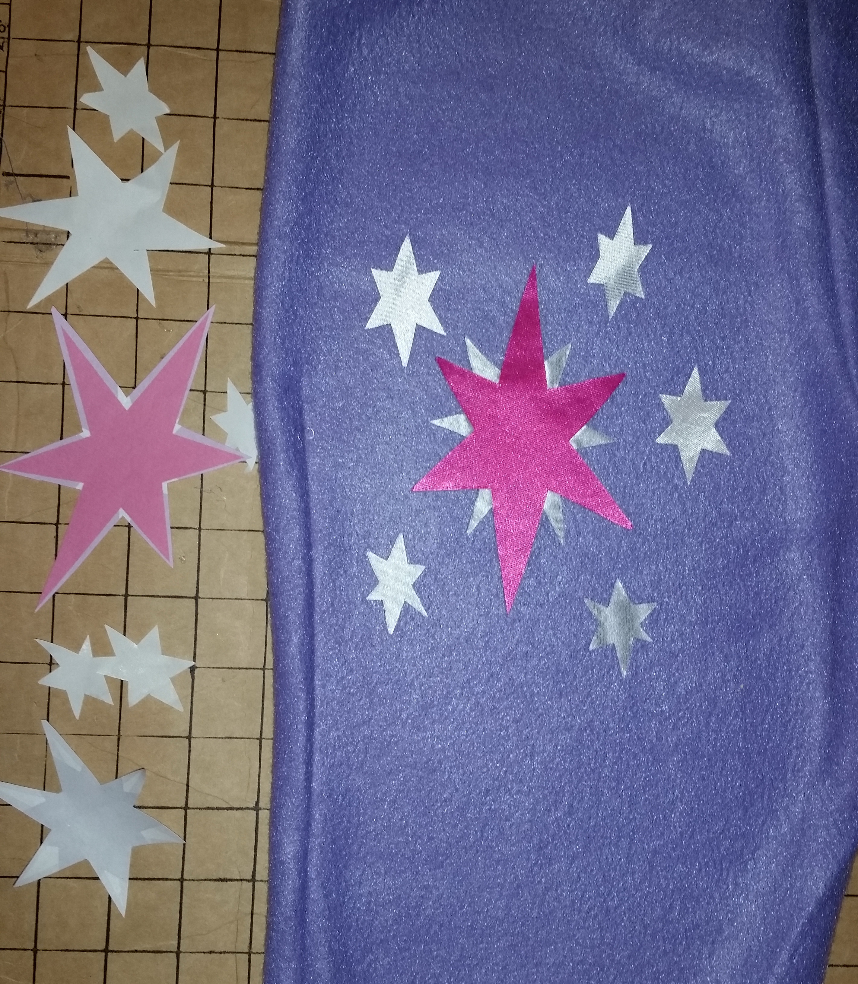 Picture of Make Pants and a Cutie Mark.