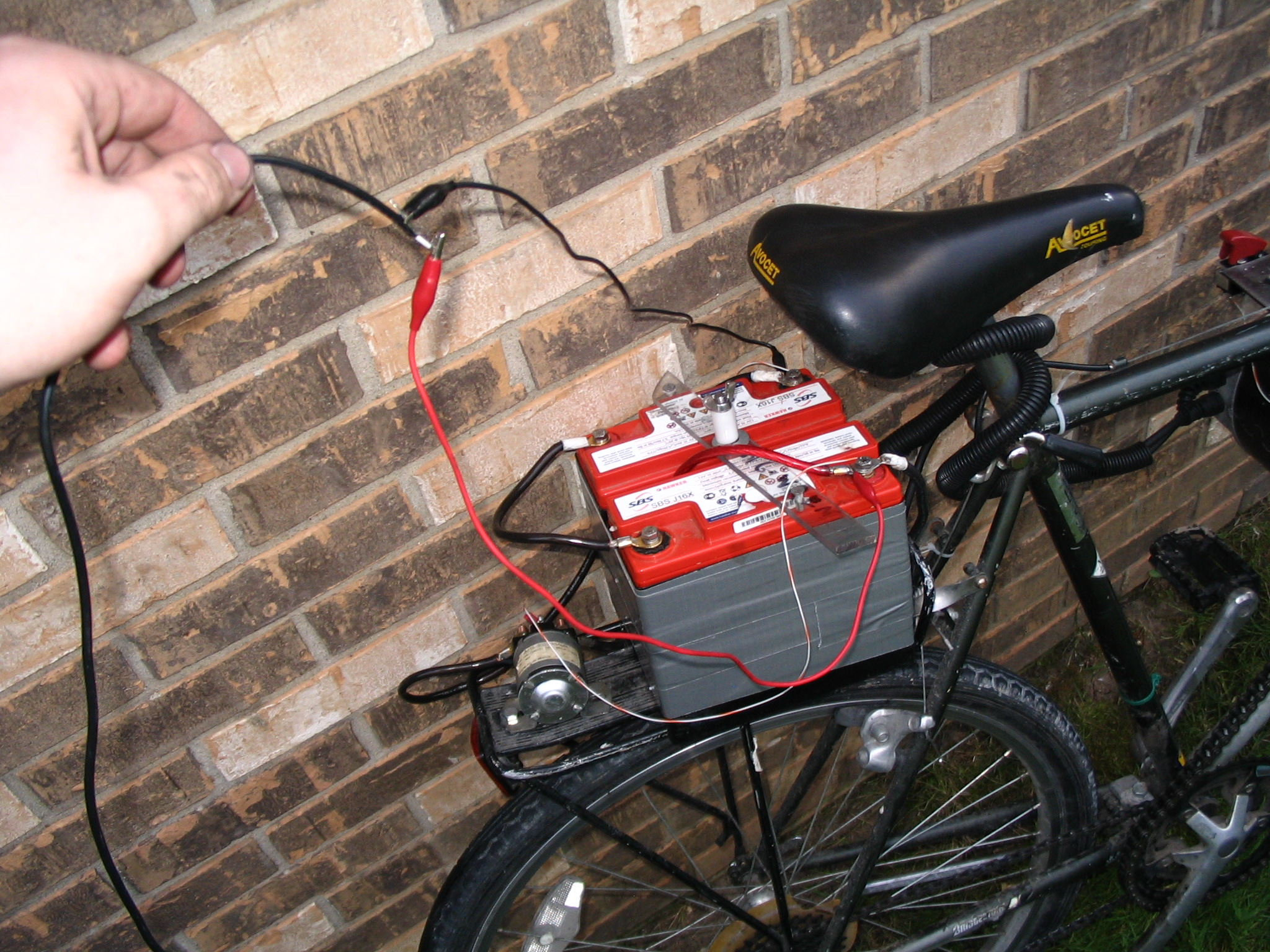 Picture of Electric Bike - Now With Chain-snapping Power!